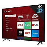 TCL 43S423 43 Inch 4K Ultra HD Smart Roku LED TV (2018) (Renewed)