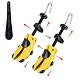 Eachway Shoe Stretcher Shoe Trees,Adjustable Length & Width (Medium)