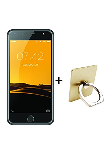 IKALL K1 4G Android Phone with Ring Holder(5-inch, Silver) 1