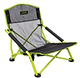 ALPS Mountaineering Rendezvous Elite Folding Camp Chair, Black/Citrus, One Size