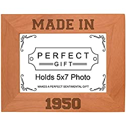 Made in 1950 Picture Frame