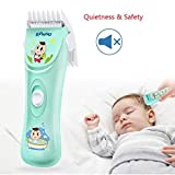 ENSSU Quiet&Safety Baby Hair Clippers Hair Trimmers Chargeable Professional Cordless Hair Clipper for Baby Children Kids