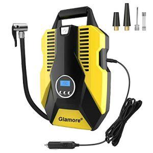 Glamore Portable Air Compressor for Car Tires, Digital Tire Inflator, 12V DC Air Compressor Tire Inflators, Air Tire… 41UBlu7IkXL