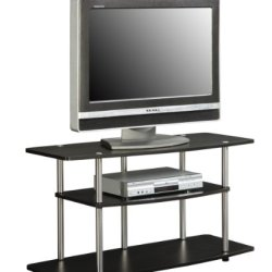 Convenience Concepts Designs2Go 3 Tier Wide TV Stand, Espresso