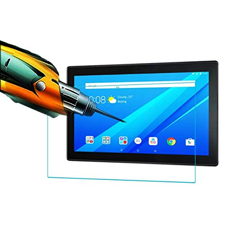 Acm Tempered Glass Screenguard Compatible with Lenovo Tab 4 10 Tb-X304l Tablet Screen Guard 4