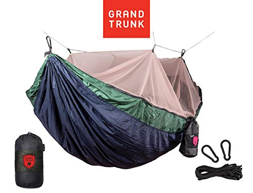 Grand Trunk Skeeter Beeter Pro Mosquito Hammock (Navy/Forest)