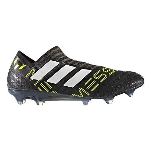 adidas Nemeziz 17 360 Agility FG Cleat Men's Soccer 8.5 Black-White-Electricity