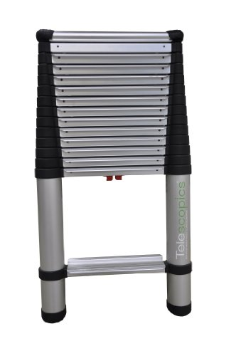 Telesteps 1800EP OSHA Compliant Professional Extension Ladder, 14.5-Feet