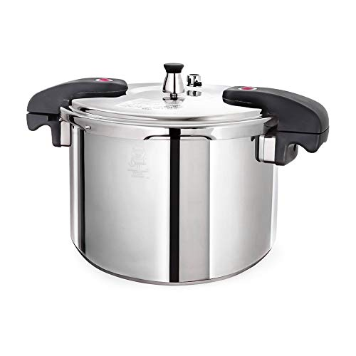 Buffalo-QCP412-12-Quart-Stainless-Steel-Pressure-Cooker-Classic-series