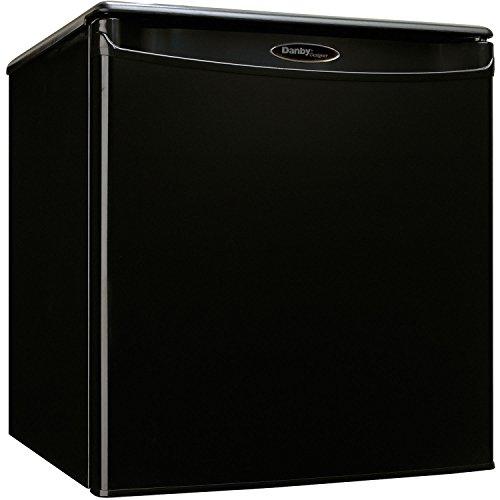 Danby DAR026A1BDD-3 DAR026A1BDD Compact Refrigerator, 115 V, 15 A, 1 Door, 2.6 cu-ft, Black