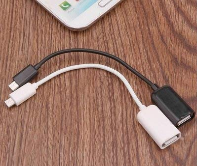 Datalact OTG Cable Micro USB OTG Cable Attach to Pendrive, Mouse, Keyboard, Card Reader 7