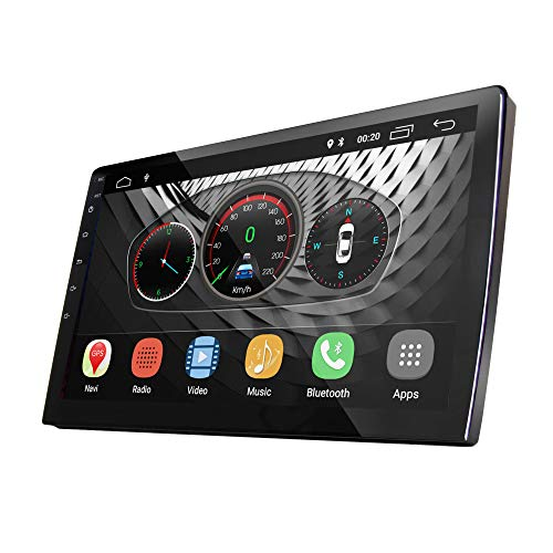 UGAR 10.1' EX8-L Universal Extended Version Car Stereo 2GB 16GB Android 8.1 Head Unit Double Din Touch Screen Radio Car Audio Indash GPS Navigation with Bluetooth WiFi ...