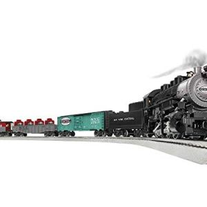 Lionel Trains – NYC Flyer 0-8-0 LionChief Set with Bluetooth, O Gauge 41UU1 l5xPL