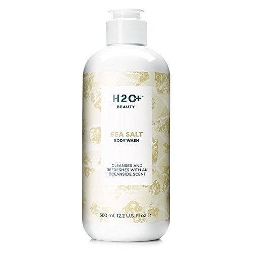 Body Wash, Sea Salt Shower Gel by H2O+ Beauty, Cleanses and Refreshes with an Oceanside Scent, 12.2 oz