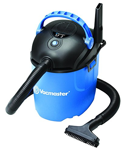 Vacmaster, VWM510, 5 Peak HP Wall Mount Wet/Dry Shop Vacuum with 2-Stage Motor and Remote Control