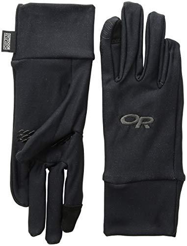 Outdoor Research Men's PL Base Sensor Gloves, Black, X-Large