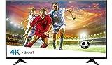 Hisense 2018 Model 55' Class H6E (54.6' diag.) 4K UHD Smart TV with HDR 55H6080E (Renewed)
