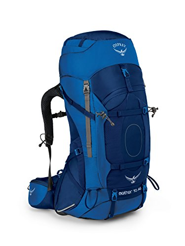 Osprey Packs Aether Ag 70 Backpack, Neptune Blue, Md, Medium