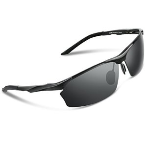 a8e6bfc9c4 ... Torege Men s Polarized Sunglasses For Cycling Fishing Driving Golf  Glasses M292 ...