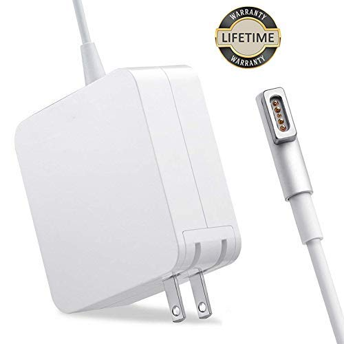 Mac Book Pro Charger, 60W Magsafe Power Adapter L-Tip Magnetic Connector Charger for Mac Book and 13-inch Mac Book Pro(Before Mid 2012 Models)