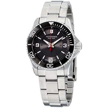 Victorinox Women's 'Maverick' Swiss Stainless Steel Automatic Watch (Model: 241708)
