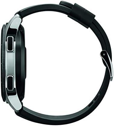 Samsung Galaxy Watch smartwatch (46mm, GPS, Bluetooth) – Silver/Black (US Version with Warranty) 5