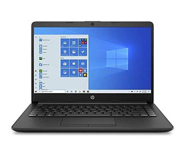(Renewed) HP 14 Ultra Thin & Light 14-inch Laptop (10th Gen i3-1005G1/8GB/256GB SSD/Win 10 Home/MS Office/1.47 Kg/Jet Black), 14s-cf3074TU