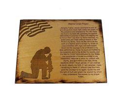 Marine Corps Prayer Sign