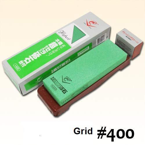 400 Grit Super Ceramic Water Stone (Japan Import)