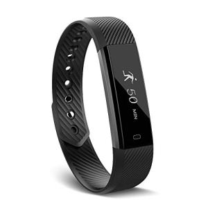 【Upgrade】 Fitness Tracker Watch,Activity Tracker Waterproof with Sleep Monitor,Smart Bracelet Smart Wristband Sport Pedometer Fitness Armbands Step Tracker Calorie Counter for Kids Women and Men