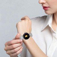 Akıllı Saat Bluetooth Özellikli H1 Su Geçirmez Kadın (mor) 18