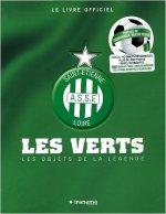 Le livre officiel Saint-Etienne A.S.S.E Loire : Les Verts, Les objets de la légende