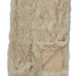 Siberian-Cream-Faux-Fur-Throw