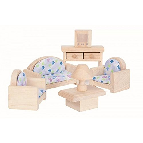 Plan Toy Doll House Living Room - Classic Style, colors may vary