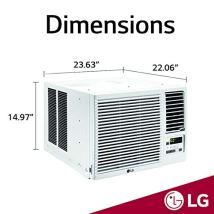LG-12000-BTU-230V-Window-Mounted-AIR-Conditioner-with-11200-BTU-Heat-Function