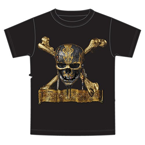 Disney Pirates of the Caribbean Dead Men Tell No Tales Boys T Shirt