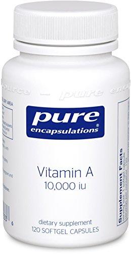 Pure Encapsulations – Vitamin A 10,000 i.u. 120 [Health and Beauty]
