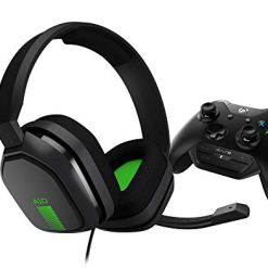 ASTRO Gaming A10 Wired Gaming Headset with Controller Mounted MixAmp M60 for Xbox One – Grey/Green