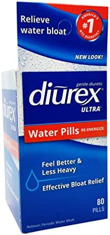 Diurex Ultra Re-Energizing Water Pills - Relieve Water Bloat - Feel Better & Less Heavy - 80 Count 3