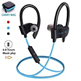 Luisport Wireless Headphones Wireless Earphones Cordless Headphones Wireless Earbuds Bluetooth Headphones Bluetooth Earphones Gym Headphones for Men and Women 6-8 Hours Play