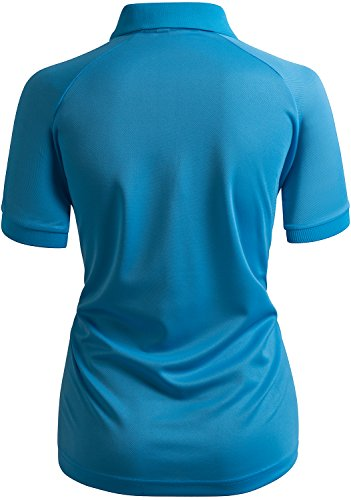 CLOVERY Women's Active Wear POLO Shirt Short Sleeve Dot Pattern 16 Fashion Online Shop gifts for her gifts for him womens full figure