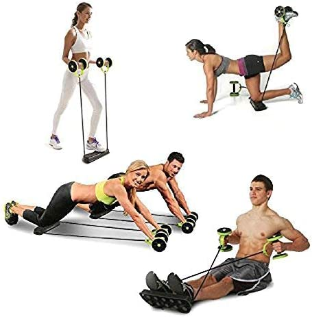 Darhoo New Sport Core Double AB Roller Wheel Fitness Abdominal Exercises Equipment Waist Slimming Trainer at Home Gym 7