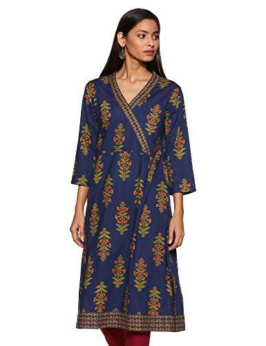 Amazon Brand – Tavasya Women's Regular Kurti