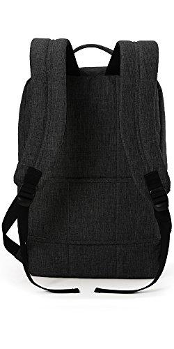 41Vx0YnY4oL - WAABI-SAABI Polyester Grey Laptop Backpack
