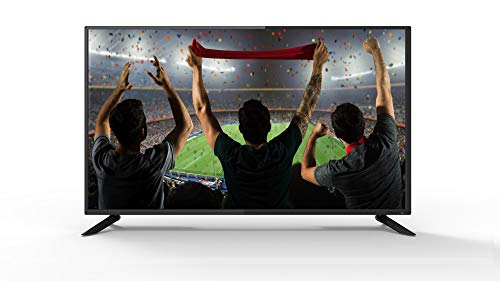 Akai AKTV410TS Televisore Led Full HD, HDMI, 1080p, DVB-T2, Nero, 40 Pollici