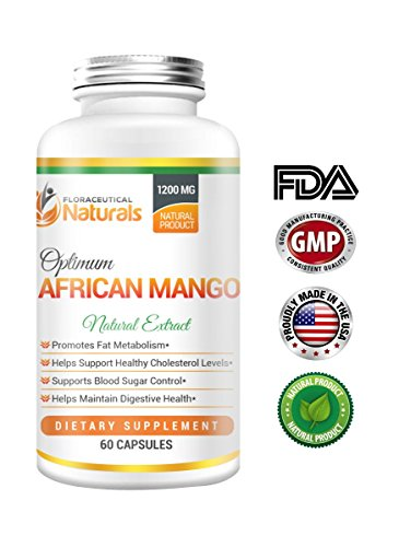 Natural African Mango Extract Dietary Supplements| Irvingia Gabonensis Extract Supports Blood Sugar Control | Maintain Digestive Health | Promote Metabolism.