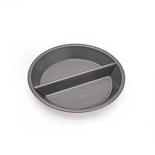 Chicago Metallic Professional Non-Stick Split Decision Pie Pan, 9-Inch