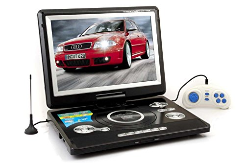 Worldtech Portable DVD Player with Built-in Led Tv Support, Tuner, USB, Sd Card, AV In and Out, 11.5inch TODAY OFFER ON AMAZON