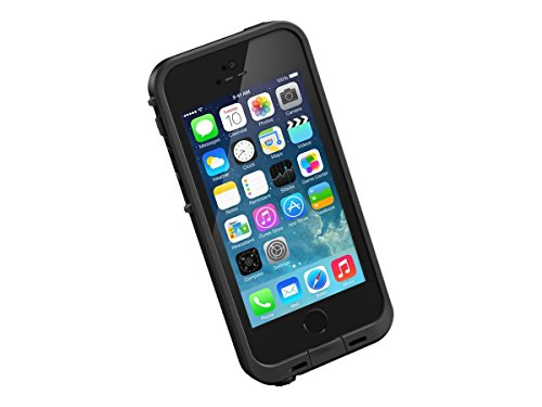 NEW LifeProof FRĒ SERIES Waterproof Case for iPhone 5/5s/SE - Retail Packaging - BLACK