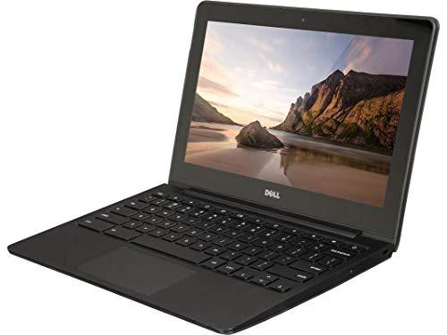 Dell ChromeBook 11 -Intel Celeron 2955U, 4GB Ram, 16GB SSD, WebCam, HDMI, (11.6 HD Screen 1366x768) (Renewed)